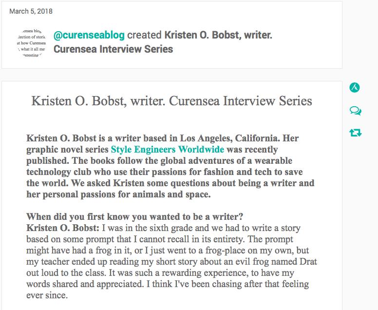 Curensea Interview