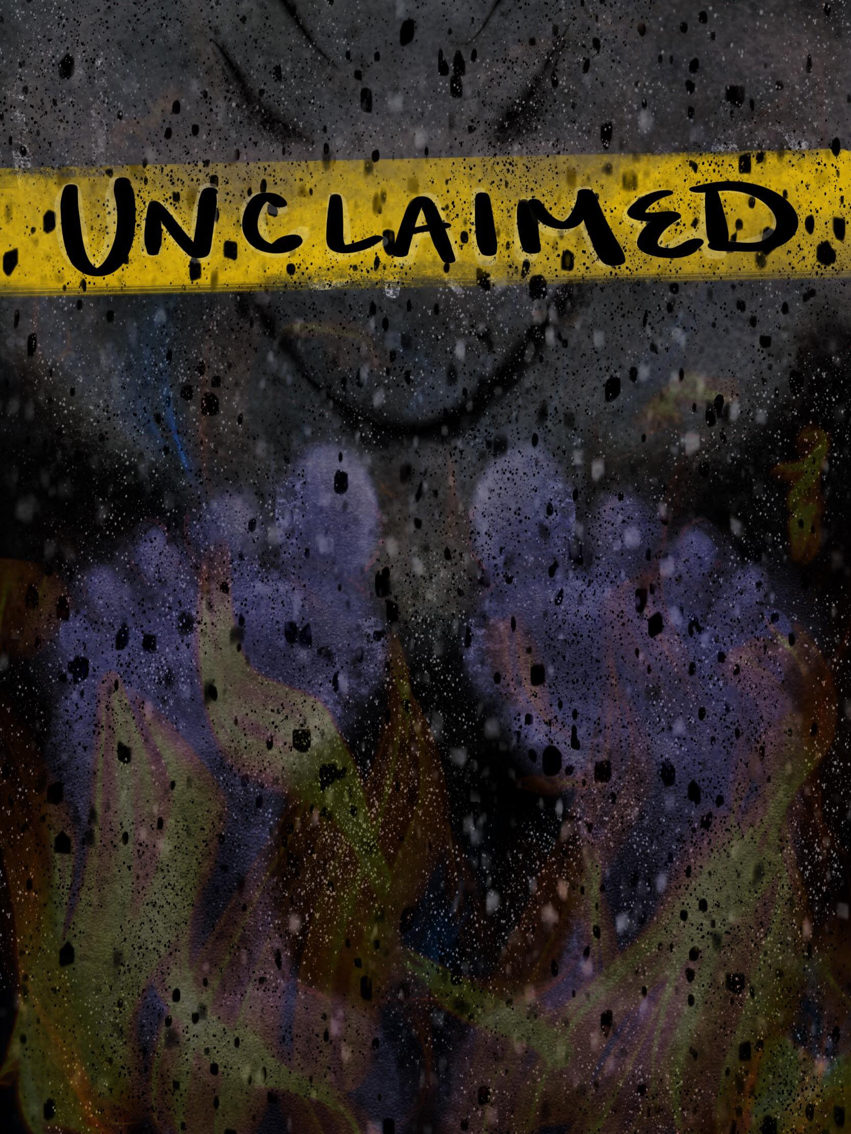 artwork for THE UNCLAIMED radio play